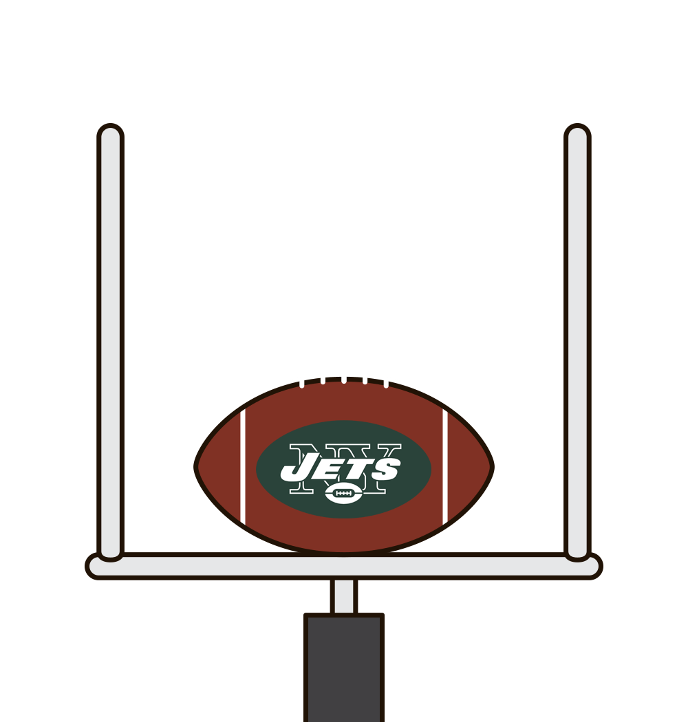 Who was the last Jets QB with 3 passing TDs and 1 rushing TD in a game?