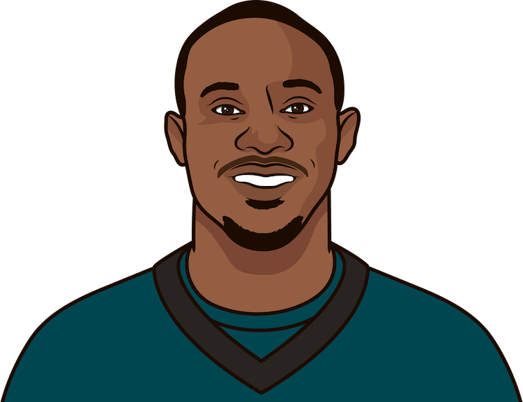 alshon jeffery stats for the eagles