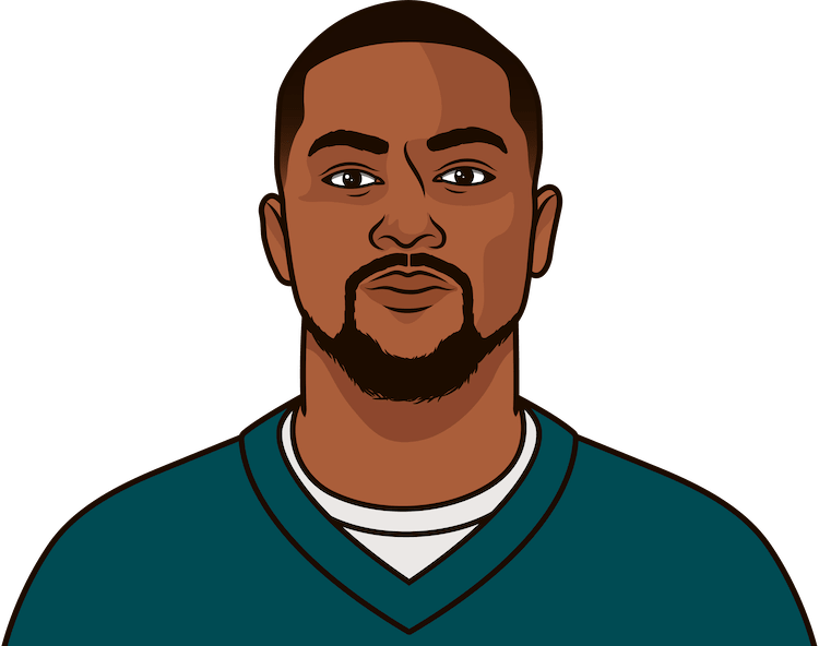desean jackson most rec yds in a game