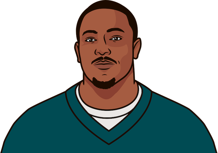 who is the philadelphia eagles all-time leading rusher