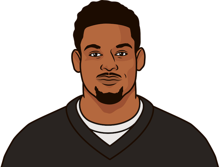 how many rushing touchdowns did juju smith-schuster have in 2018