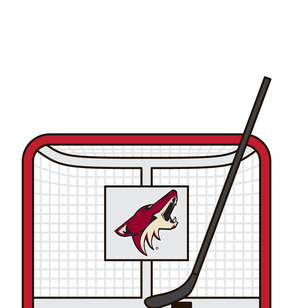who has the best shooting percentage for the arizona coyotes in a season