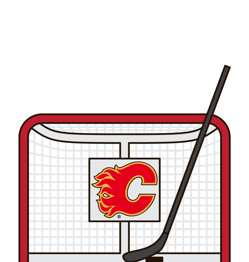 who leads the flames in goals this year
