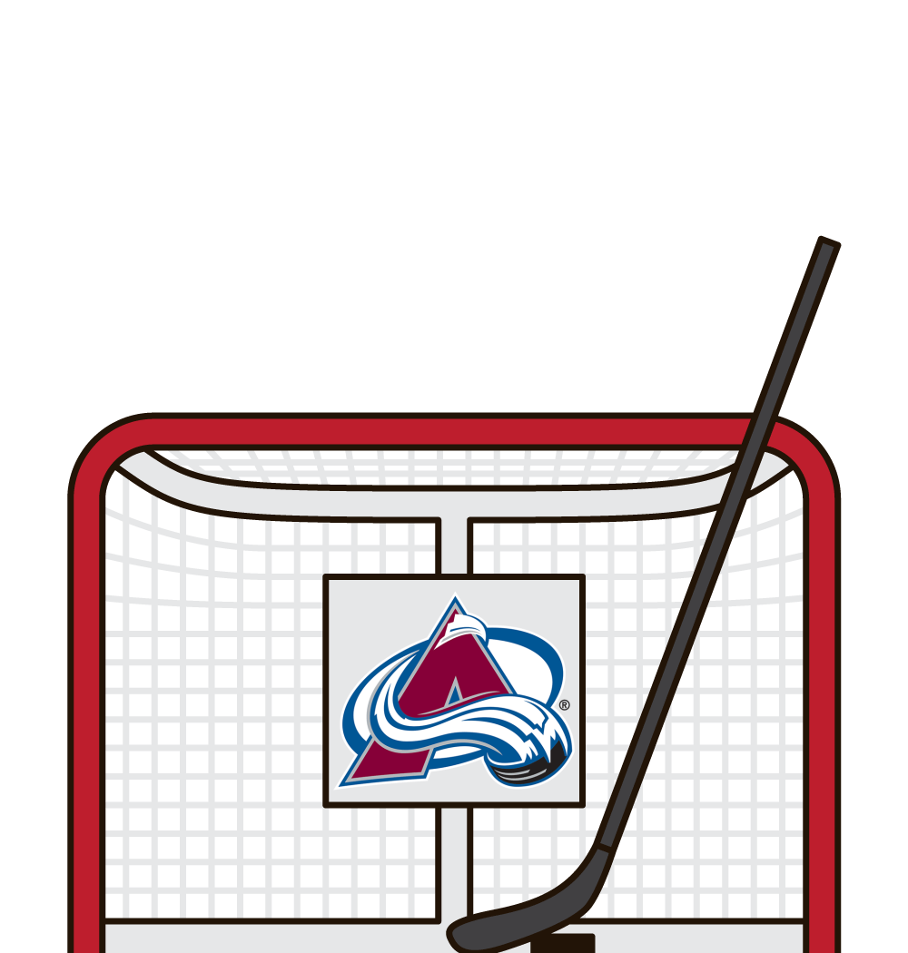 who has the most career hits for the colorado avalanche