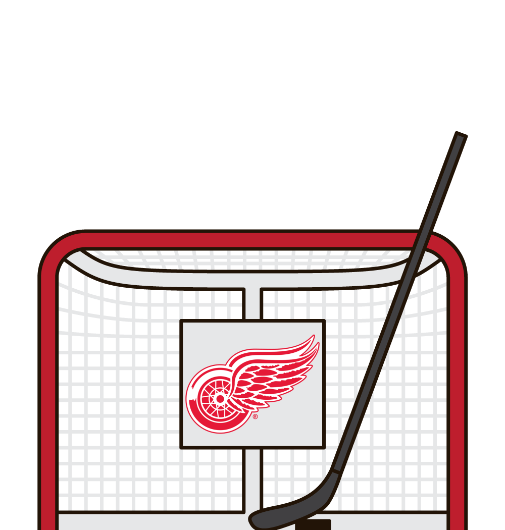 who has the most minor penalties for the detroit red wings in a season