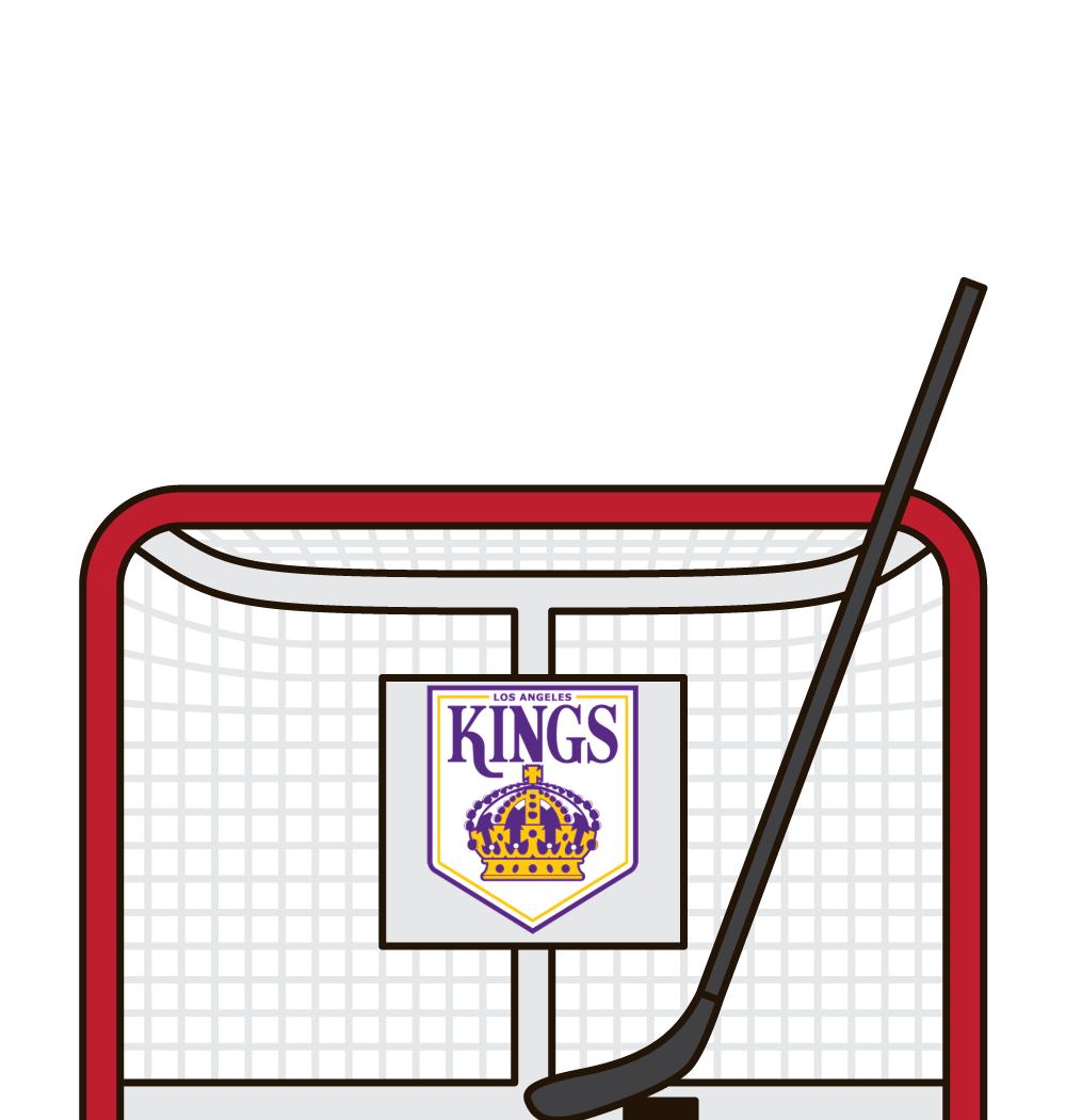 kings total shots and goals on road last 5 games