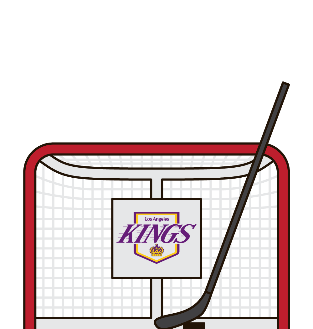 what are the most goals in a game by the los angeles kings