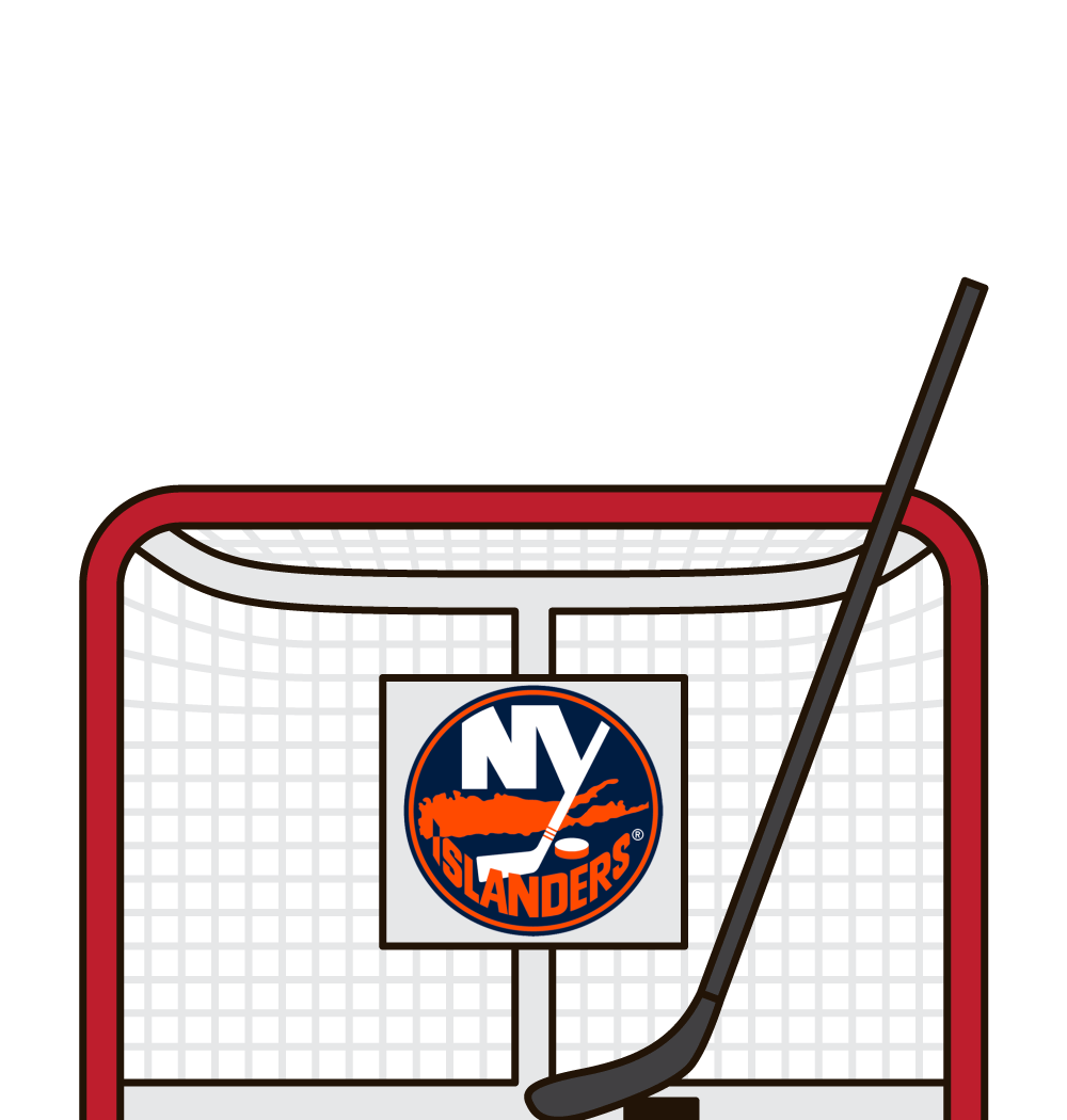 who has the most hits for the new york islanders in a game